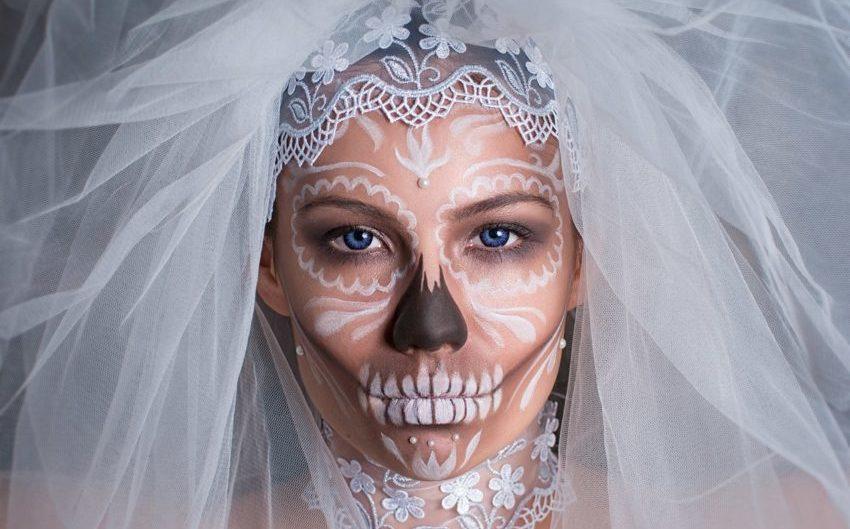 креативный образ на Хэллоуин